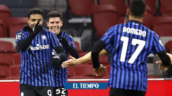 ¡Sensacional! los goles de Muriel y Zapata con el Atalanta