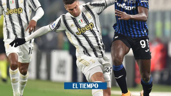 El duelo colombiano en la Serie A, en tablas: Juventus 1-1 Atalanta