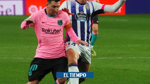 Barcelona goleó y Messi superó a Pelé