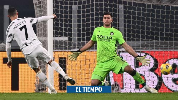 De la mano de Ronaldo, Juventus vence a Udinese