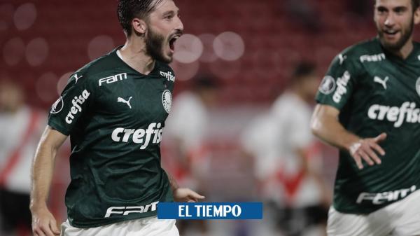 River vivió una noche de terror y Palmeiras lo goleó