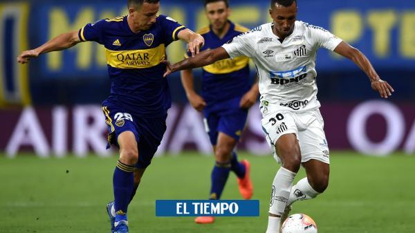 EN VIVO: siga el minuto a minuto del Santos vs. Boca Juniors