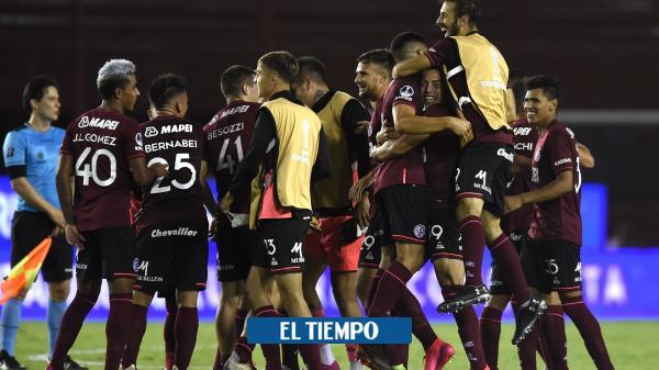 Lanús fue contundente y avanzó a la final de la Copa Suramericana
