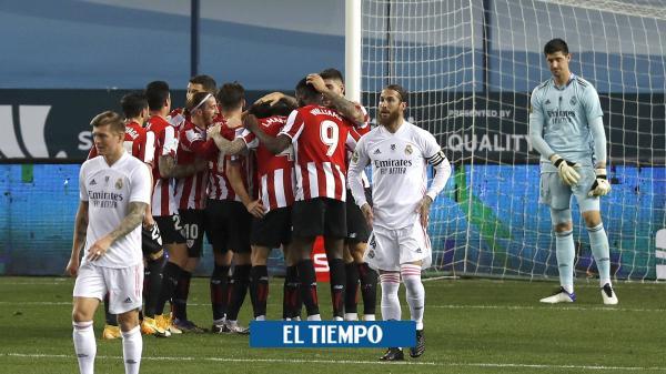 Athletic castigó a Real Madrid y lo sacó de la Supercopa de España