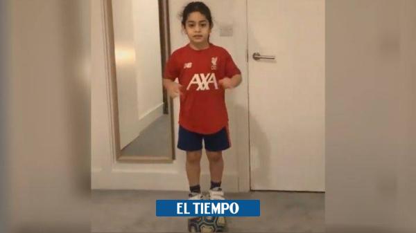 Arat, el niño de 7 años que juega en Liverpool con la magia de Messi