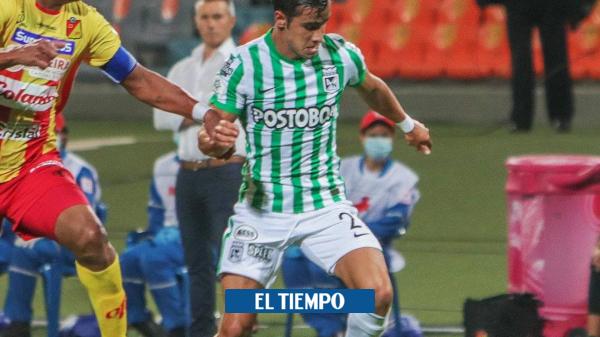 El debut soñado del hijo de Juan Pablo Ángel con Nacional