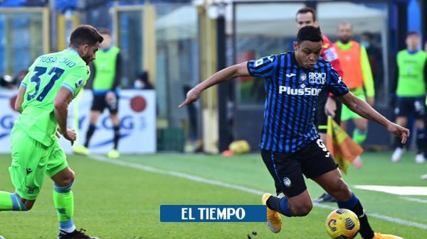 Atalanta, Duván y Muriel recibieron un duro golpe en la Serie A