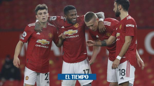 Manchester United propina una goleada escandalosa y humillante