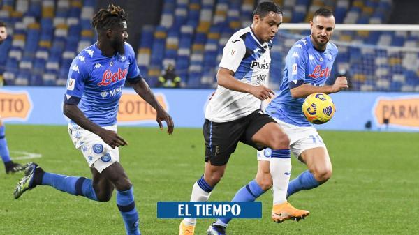 Luis Fernando Muriel sigue en racha, vea acá su gol con Atalanta