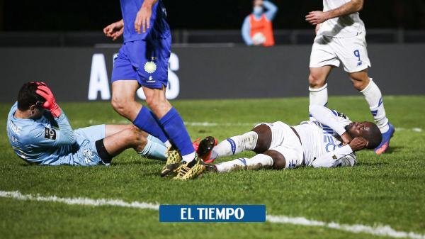 El parte médico del futbolista del Porto que sufrió un grave golpe