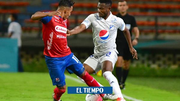 Millonarios mejoró en la defensa y sacó un punto en Medellín