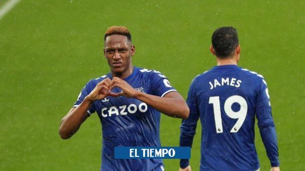 Yerry Mina returns to the title Everton vs Manchester City – International Football – Sports