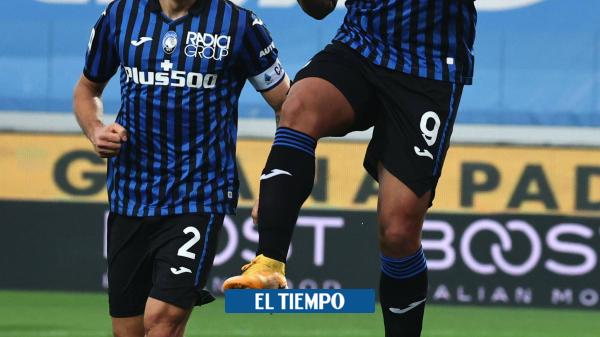 Vea el golazo salvador de Luis Fernando Muriel con el Atalanta