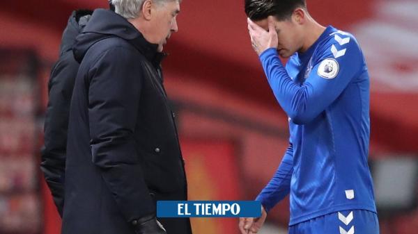 Ancelotti confirmó que el calvario de James no ha pasado