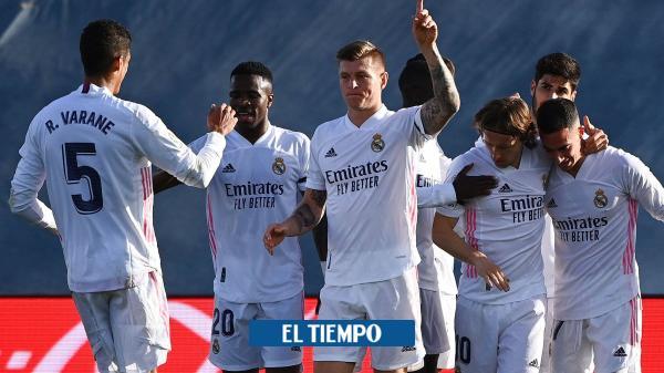 Real Madrid sigue su buena racha en España