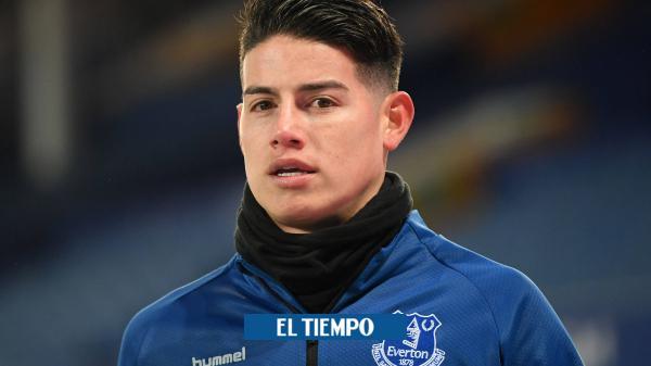 ¿Qué pasó con James Rodríguez en el Everton?