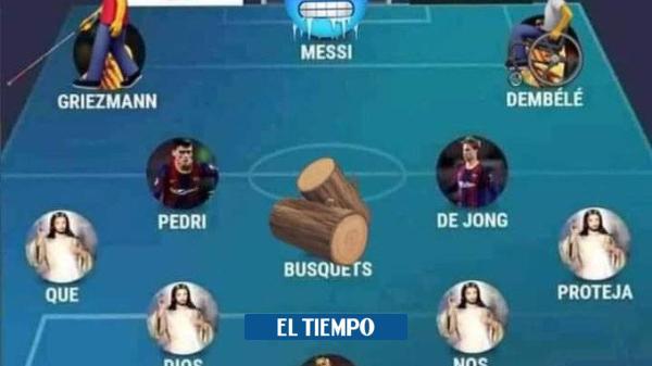 Los memes, desatados con la goleada del PSG al Barcelona