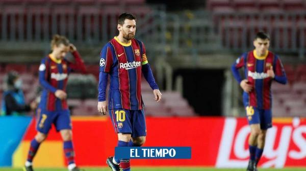 El enojo de Iván Mejía tras goleada del PSG a Barcelona