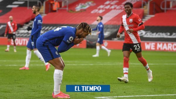 Chelsea pincha en su visita al Southampton