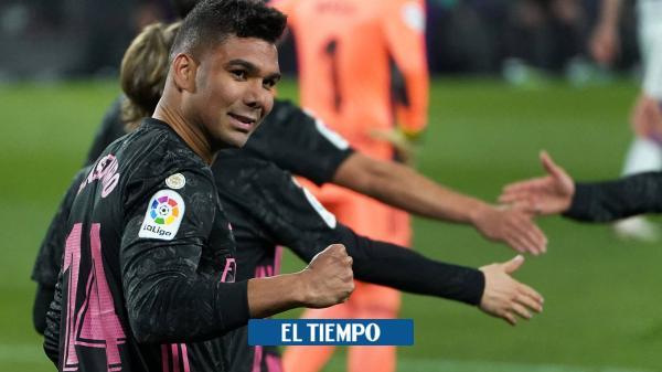 Casemiro salva al Real Madrid, en un triunfo vital