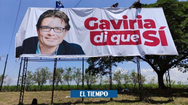 Con vallas le piden a Alejandro Gaviria que sea candidato ...