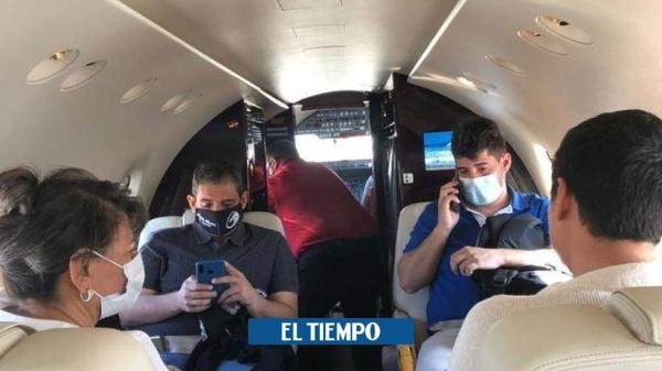 Silvestre Dangond se solidariza con Jorge Oñate y viaja a Medellín