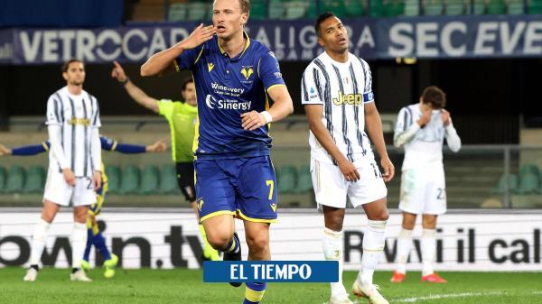 Juventus sufrió un fuerte pinchazo en la Serie A