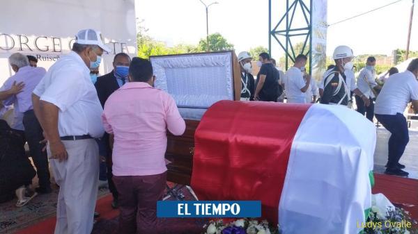 Melancolía vallenata en La Paz previo a exequias de Jorge Oñate