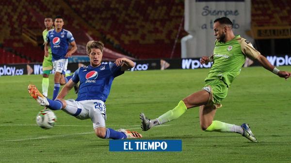 Millonarios sufre dura derrota en Bogotá, contra Jaguares