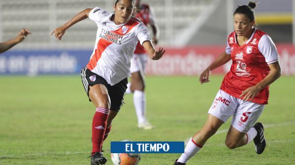 Sorpresiva derrota de Santa Fe en la Libertadores Femenina
