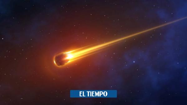 El impresionante meteoro que fue avistado en Norteamérica