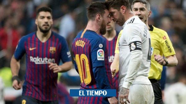 Sergio Ramos le da la bienvenida a Messi en el PSG