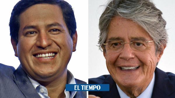 ¿Qué han dicho Lasso y Arauz durante jornada del balotaje en Ecuador?