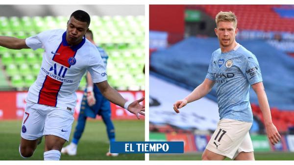 City y PSG, a todo o nada por la final de la Liga de Campeones