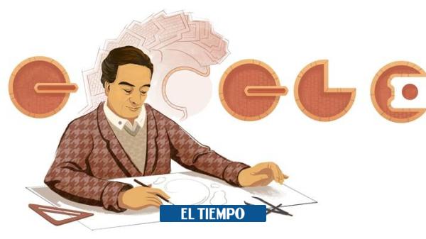 Google le rinde un homenaje al arquitecto Rogelio Salmona