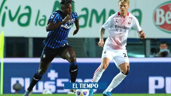 Atalanta perdió el partido y el subcampeonato con el Milan