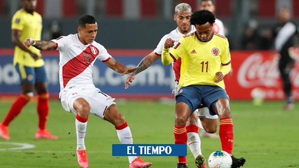 Colombia vs. Perú, en vivo: siga aquí el duelo