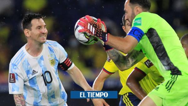 Colombia quiere borrarle la sonrisa a Messi