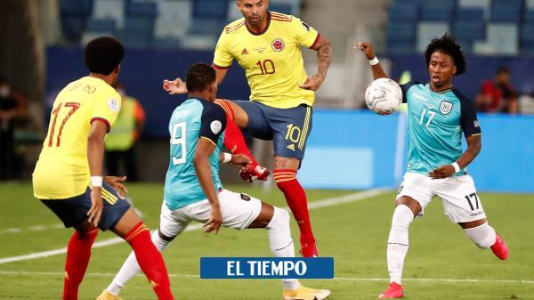 Colombia vs Ecuador en vivo: Copa América 2021 en directo