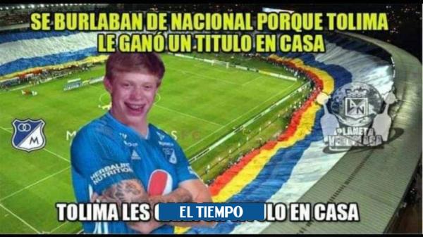 Lluvia de memes contra Millonarios tras perder la Liga con el Tolima