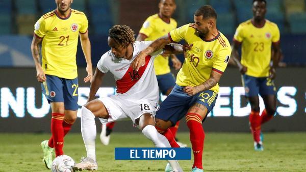 Colombia vs. Perú: los goles del partido de la Copa América