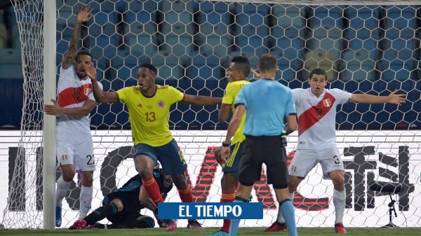 Colombia perdió y Perú cobró revancha