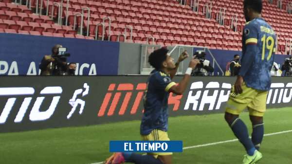 Luis Díaz metió a Colombia en el podio de la Copa América