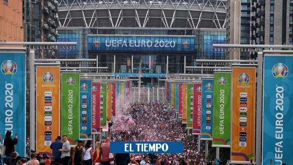 Los disturbios que marcaron la final de la Eurocopa