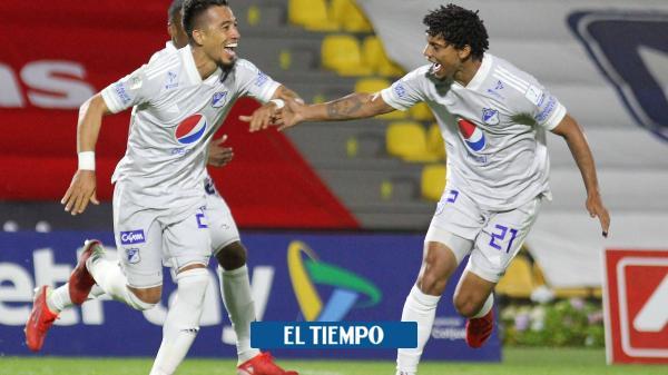 Millonarios arrancó la Liga con triunfo contundente contra Pasto
