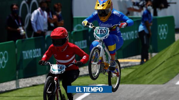 Mariana Pajón: estos son los horarios para semifinal y final de BMX