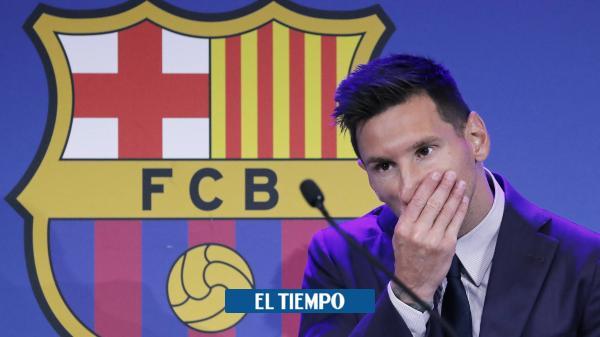 Salida de Messi del Barcelona provoca la primera renuncia en el club