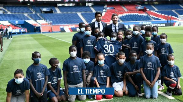 Lionel Messi: así fue el primer día como jugador del PSG