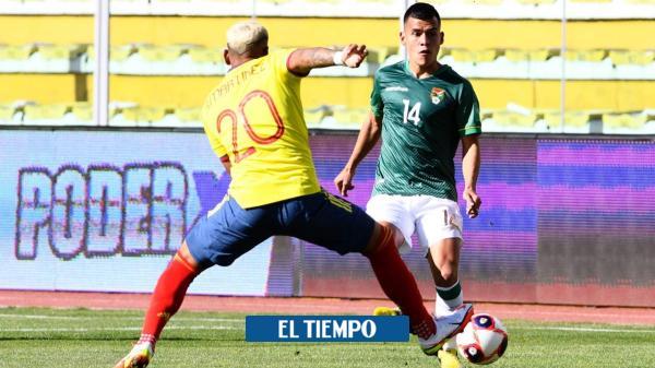Bolivia y Colombia empatan, aún no termina el juego, siga el en vivo