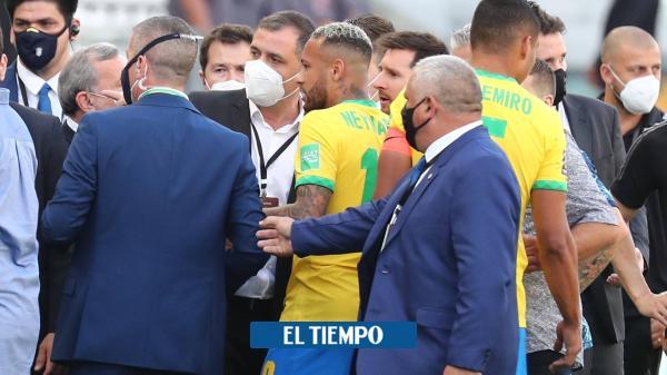 Escándalo: Brasil vs. Argentina se suspende por intervención sanitaria
